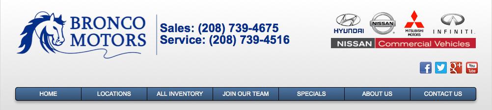 Receptionist Boise Id Bronco Motors Jobs